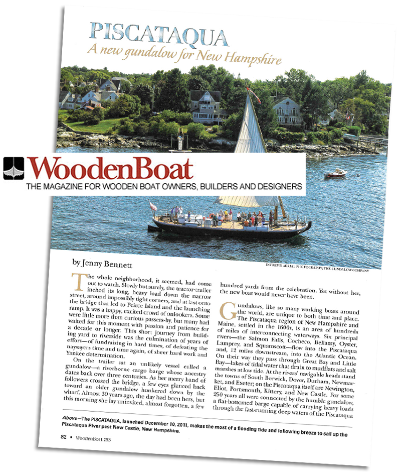 Wooden Boat Magazine Tells The Story Of New Piscataqua