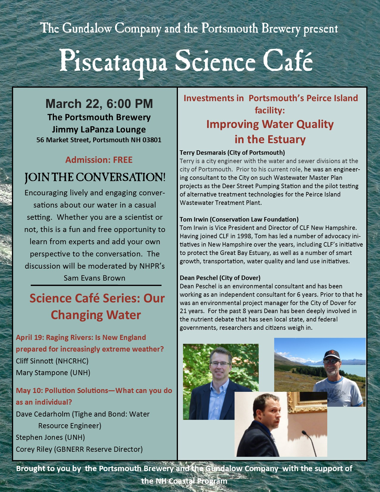 science cafe March 22