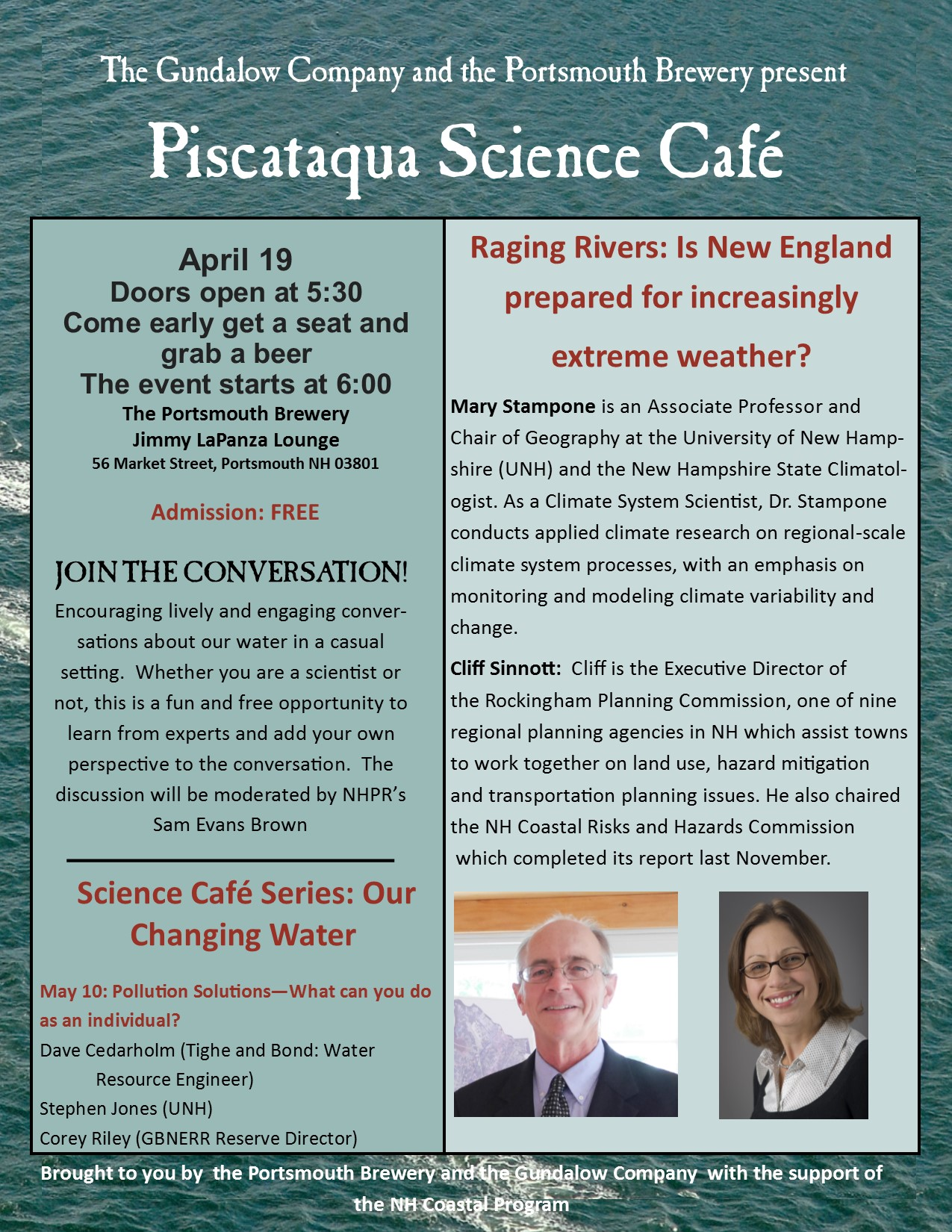 science cafe April 19