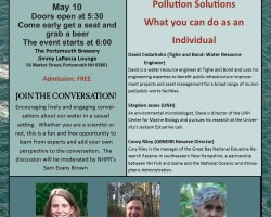Piscataqua Science Cafe: Pollution Solutions