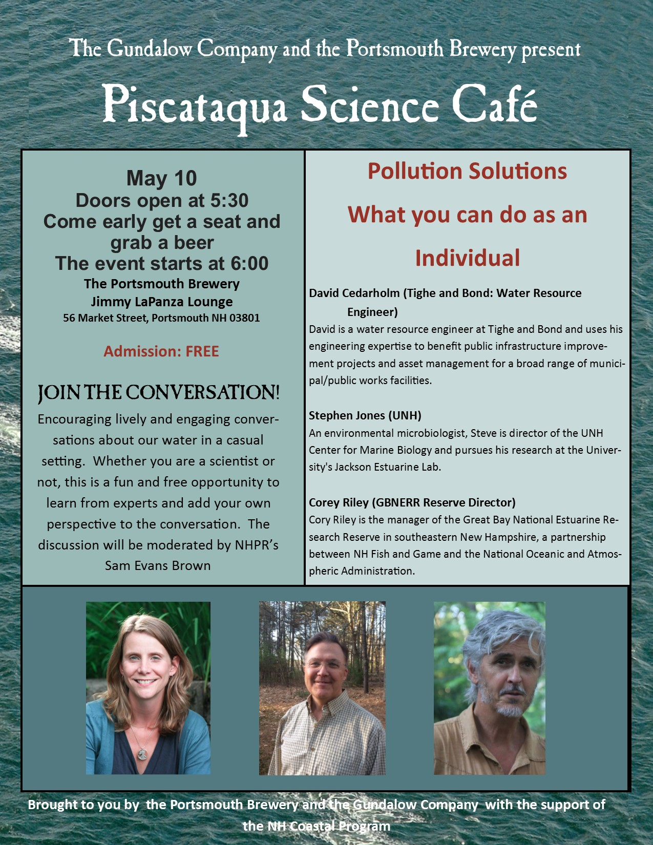 science cafe May 10