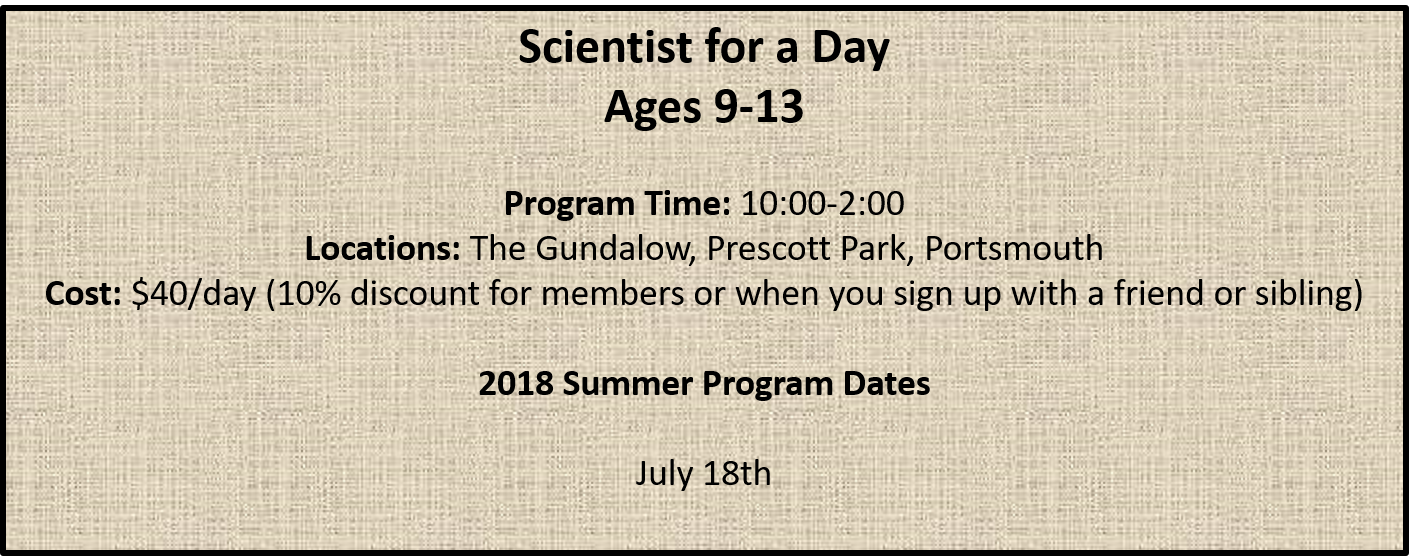 scientists for a day
