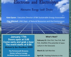 Science Cafe - Electrons and Electrolytes  Alternative Energy (and) Drinks